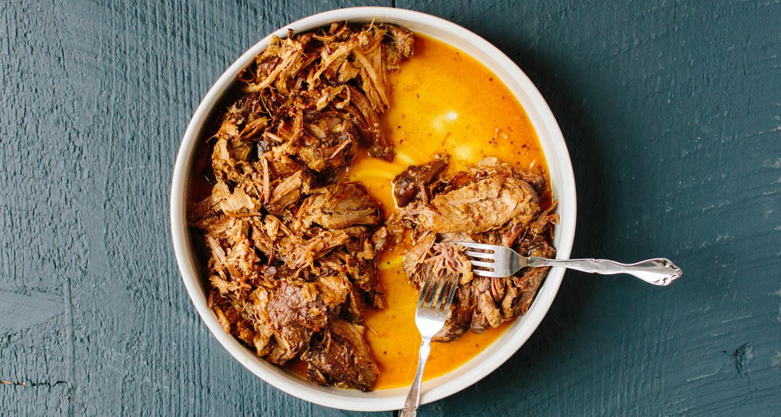 Instant Pot Barbecue Pork Shoulder