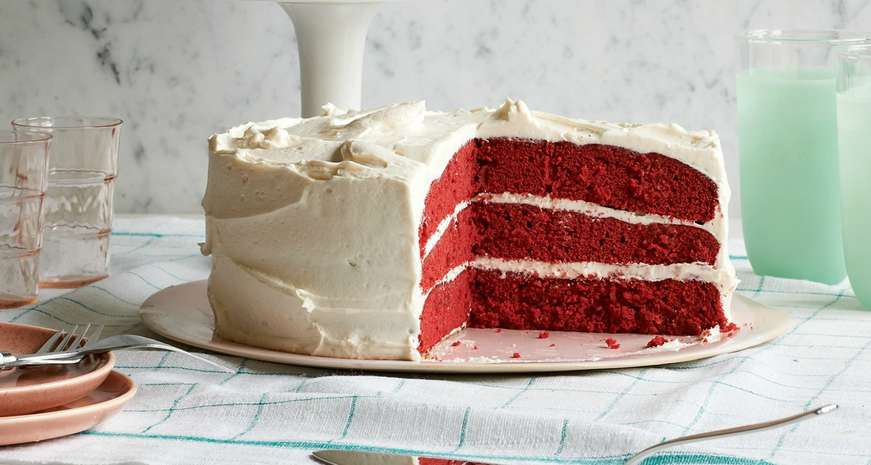 Anne Byrn's Red Velvet Cake with Cream Cheese Frosting