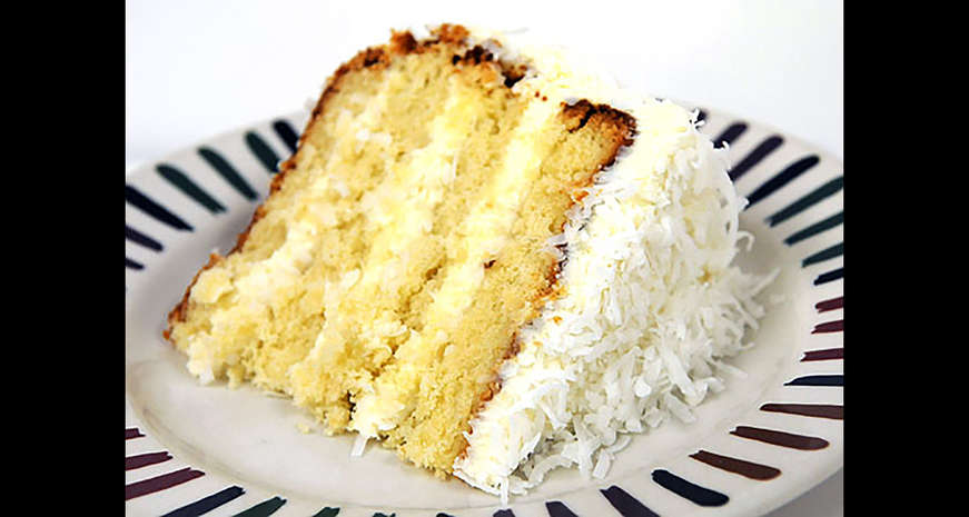 Coconut Pudding Cake