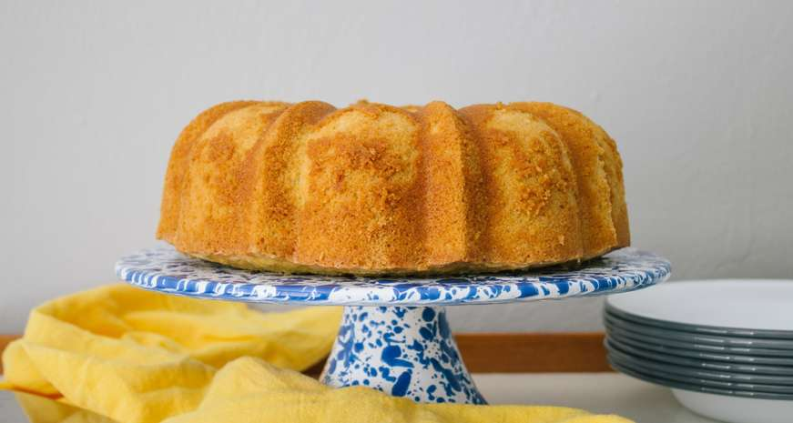 Susie Bryant's Pound Cake by Way of Joe Roy Pendarvis