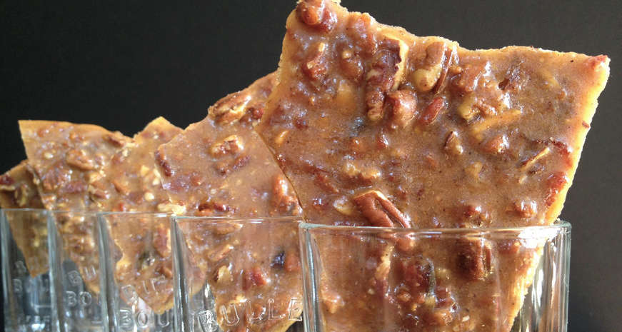 Bourbon brittle
