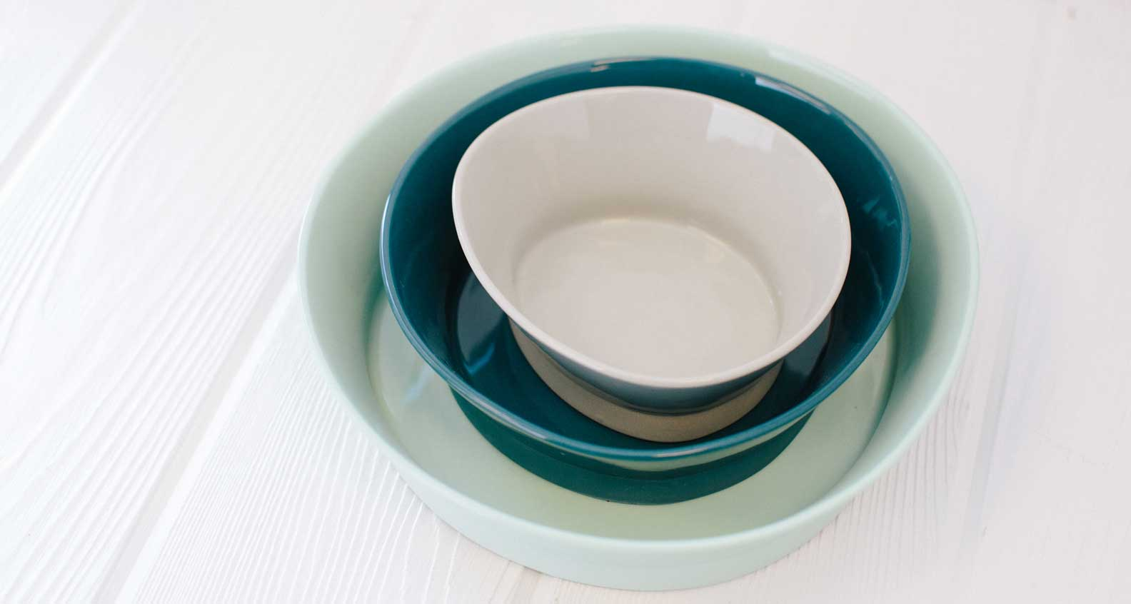 Bean & Bailey Nesting Bowl Set