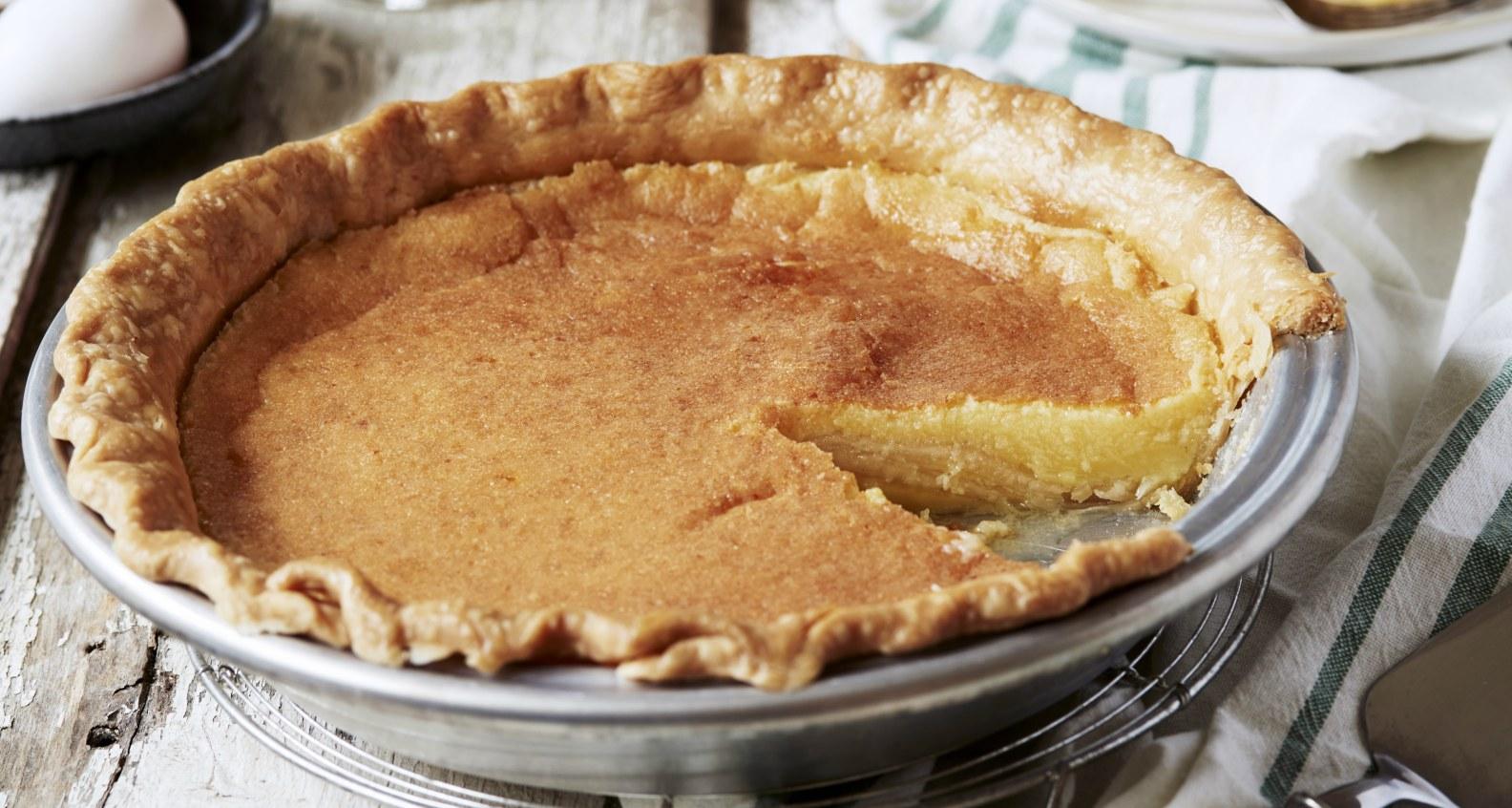 Anne Byrn's Shaker Buttermilk Pie