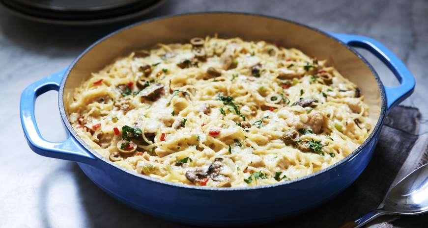 Anne Byrn's Chicken Tetrazzini