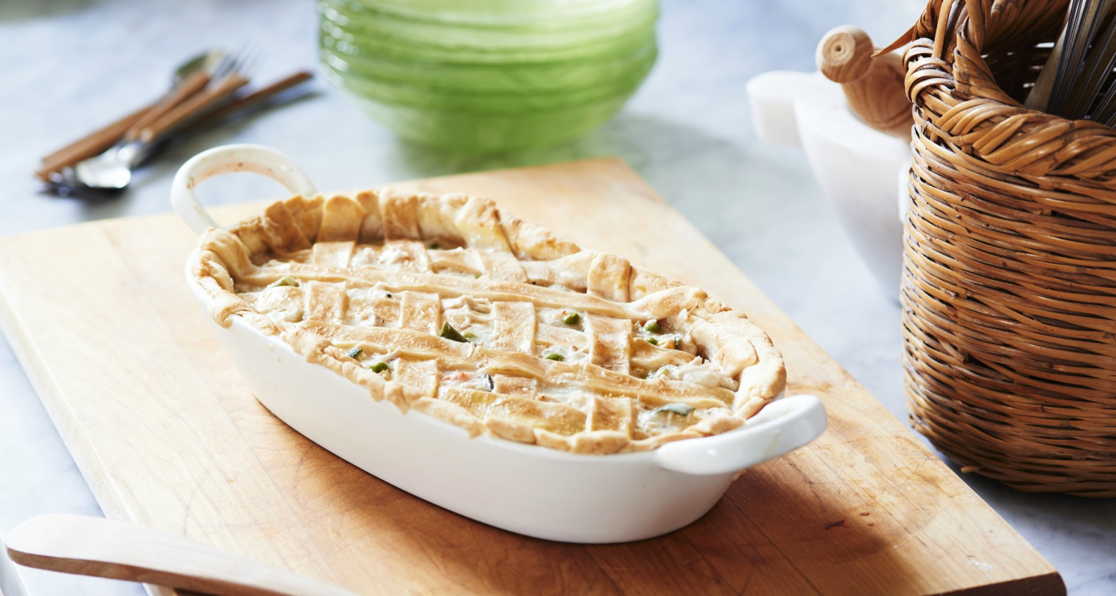 Anne Byrn's Chicken Pot Pie