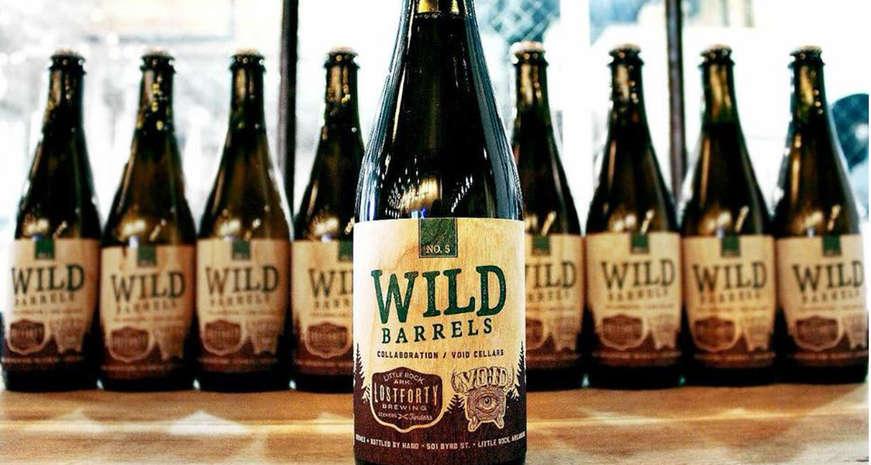 Lost Forty Wild Barrel beer
