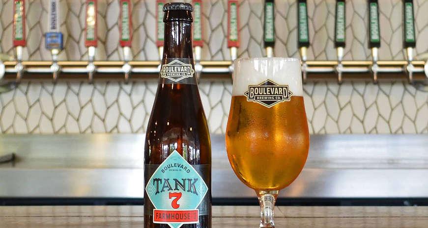 Boulevard Brewing Tank 7 beer
