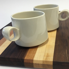 Bean and bailey asymmetrical mugs 2