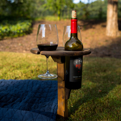 Hoffmaster folding wine table