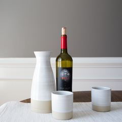 Stoneware and co 3 piece wine set 2