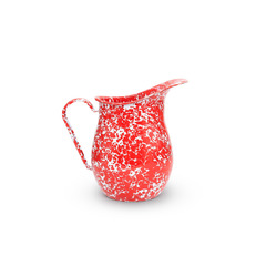 red splattered small pitcher from crow canyon