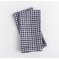 Gingham blue linen napkins set of 2 napkins 1024x1024 2x