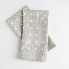 White dots linen napkin napkins 1024x1024 2x