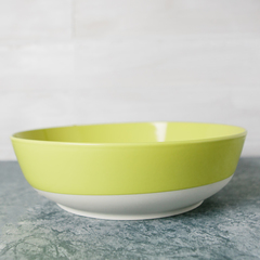 Revol Wide Serving Bowl in Yellow