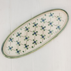 Stoneware 20inch platter in french country