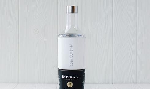 Sovaro 25-ounce White Beverage Bottle