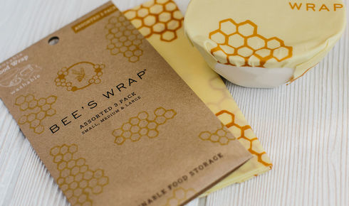 Bee's Wrap honeycomb pattern