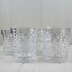 two glass tumblers from nachtmann