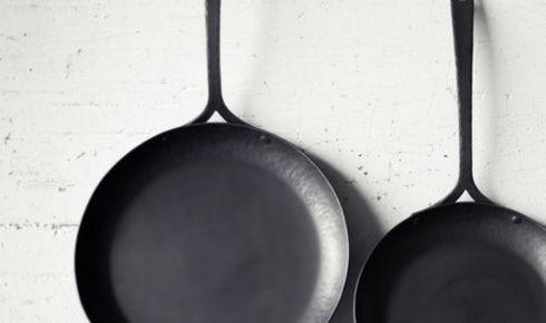 "Blanc Creatives 13"" Carbon Steel Sauté Pan"