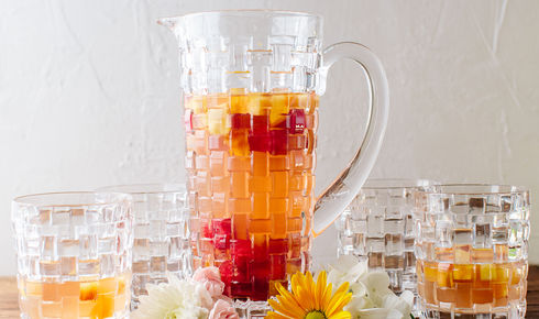 Nachtman set with sangria in pitcher