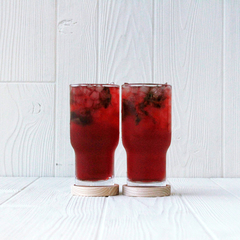 Two LSA Utility Highball Glasses